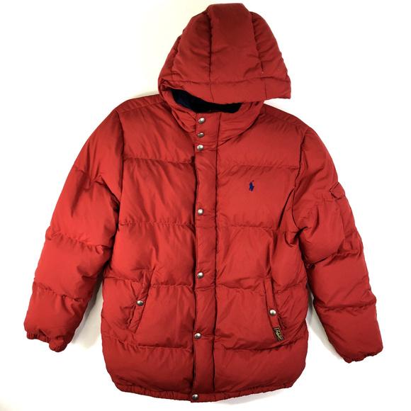 Ralph 18 Big 20 Boys Xl Lauren Coat Polo Puffer qGSUzLMVp